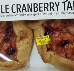 Trader Joe's Apple Cranberry Tart