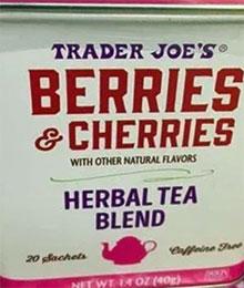 Trader Joe's Berries & Cherries Herbal Tea