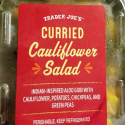 Trader Joe's Curried Cauliflower Salad