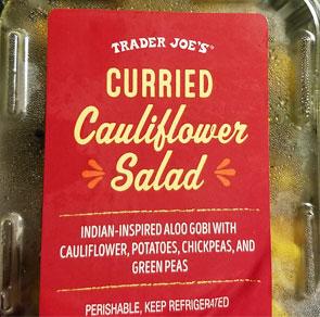 Trader Joe's Curried Cauliflower Salad