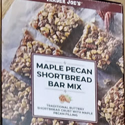 Trader Joe's Maple Pecan Shortbread Mix