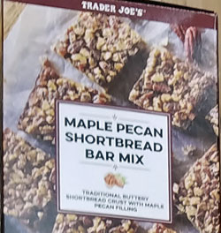 Trader Joe's Maple Pecan Shortbread Mix