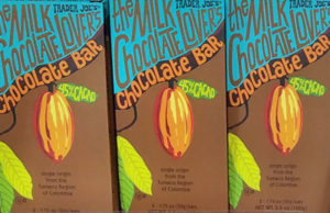 Trader Joe's Milk Chocolate Lover's 45% Cacao Chocolate Bar