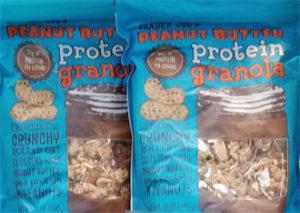 Trader Joe's Peanut Butter Protein Granola