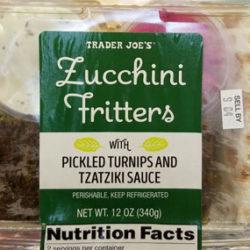 Trader Joe's Zucchini Fritters