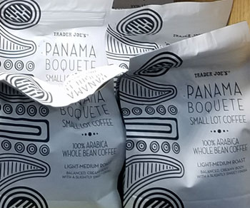Trader Joe's Panama Boquete Small Lot Coffee