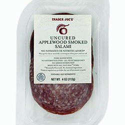 Trader Joe's Uncured Applewood Smoked Salami