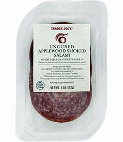 Trader Joe's Uncured Applewood Smoked Salami