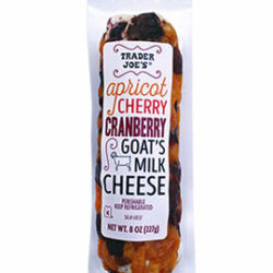 Trader Joe's Apricot Cherry Cranberry Goat's Milk Cheese
