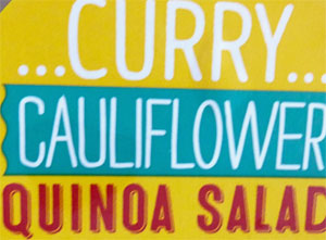 Trader Joe's Curry Cauliflower Quinoa Salad