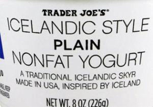 Trader Joe's Icelandic Style Plain Nonfat Yogurt