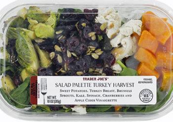 Trader Joe's Salad Palette Turkey Harvest