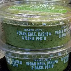 Trader Joe's Vegan Kale Cashew & Basil Pesto