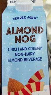 Trader Joe's Almond Nog