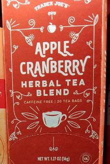Trader Joe's Apple Cranberry Herbal Tea Blend
