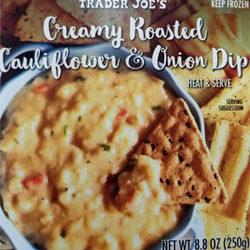 Trader Joe's Creamy Roasted Cauliflower & Onion Dip