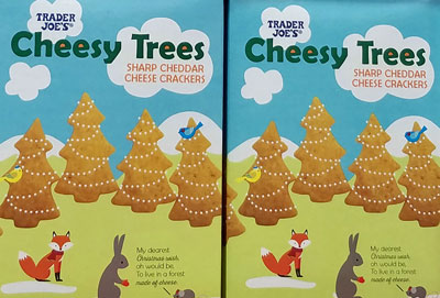 Trader Joe's Cheesy Trees Cheddar Crackers Reviews