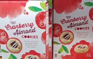 Trader Joe's Cranberry Almond Cookies