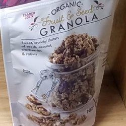 Trader Joe's Organic Fruit & Seed Granola