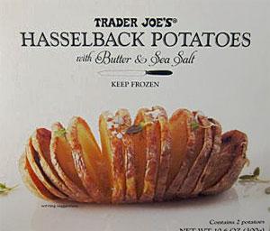 Trader Joe's Hasselback Potatoes with Butter & Salt