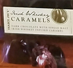 Trader Joe's Irish Whiskey Caramels