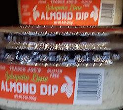 Trader Joe's Jalapeño Lime Almond Dip