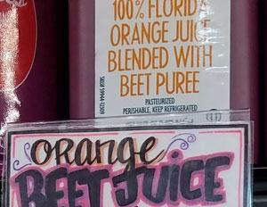 Trader Joe's Orange Beet Juice