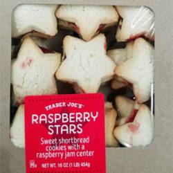 Trader Joe's Raspberry Stars Cookies