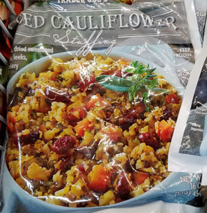 Trader Joe's Riced Cauliflower Stuffing