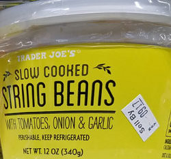 Trader Joe's Slow Cooked String Beans