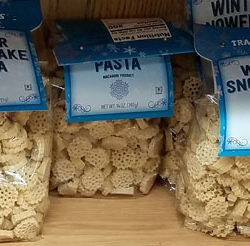 Trader Joe's Winter Snowflake Pasta