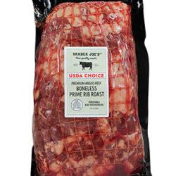 Trader Joe's USDA Choice Premium Angus Beef Boneless Rib Roast