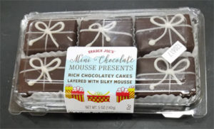 Trader Joe's Mini Chocolate Mousse Presents