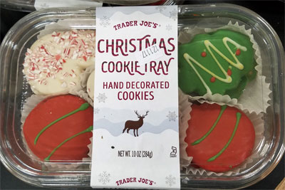 Trader Joe's Christmas Cookie Tray