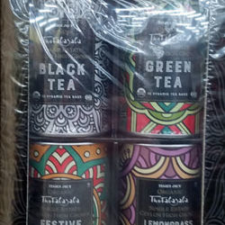 Trader Joe's Organic High Grown Tea Collection