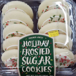 Trader Joe's Holiday Frosted Sugar Cookies