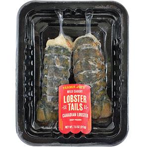 Trader Joe's Wild Caught Lobster Tails