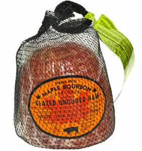 Trader Joe's Maple Bourbon Flavored Glazed Uncured Ham