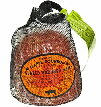 Trader Joe's Maple Bourbon Flavored Glazed Uncured Ham Reviews
