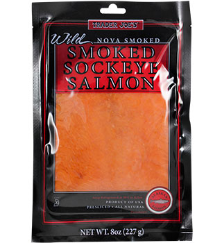 Trader Joe's Wild Nova Smoked Sockeye Salmon