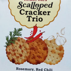 Trader Joe's Scalloped Cracker Trio
