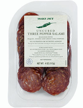 Trader Joe's Uncured Three Pepper Salami