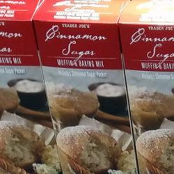 Trader Joe's Cinnamon Sugar Muffin & Baking Mix