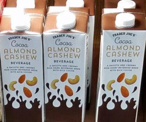 Trader Joe's Cocoa Almond Cashew Beverage