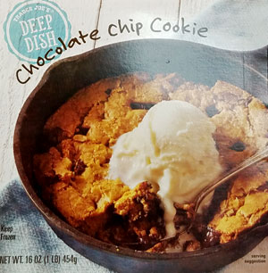 Trader Joe's Deep Dish Chocolate Chip Cookie