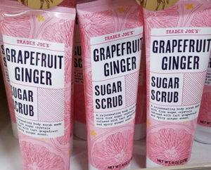 Trader Joe's Grapefruit Ginger Sugar Scrub