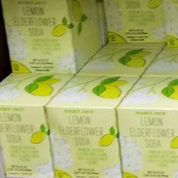 Trader Joe's Lemon Elderflower Soda