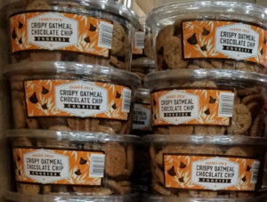 Trader Joe's Crispy Oatmeal Chocolate Chip Cookies