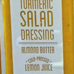 Trader Joe's Almond Butter Turmeric Salad Dressing