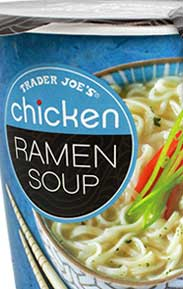 Trader Joe's Chicken Ramen Soup